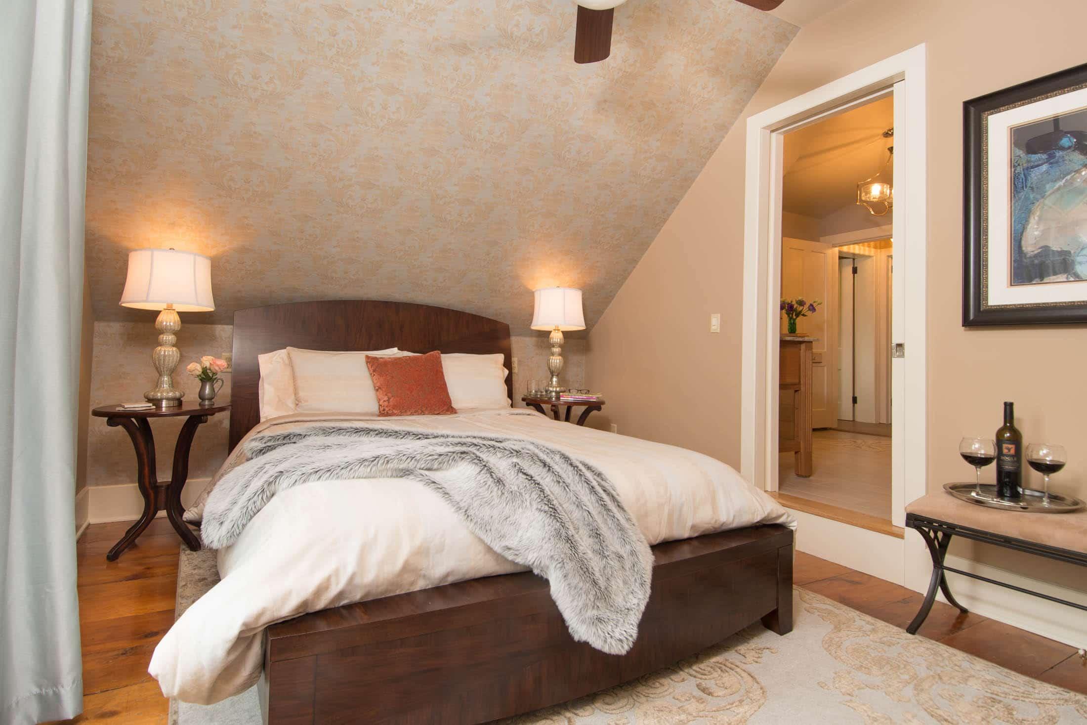bedroom at inn